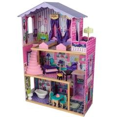 """Деревянный домик Барби """"Особняк мечты"""" (My Dream Mansion) с мебелью 13 элементов"""