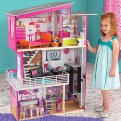 """Дом для Барби """"Роскошный дизайн"""" (Luxury) с мебелью и интерактивом"""