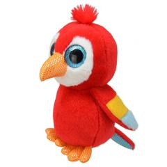 Мягкая игрушка Попугай, 15 см