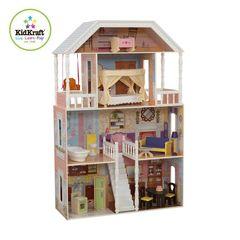 """Кукольный домик для Барби """"Саванна"""" (Savannah) с мебелью 14 элементов"""