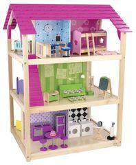 """Кукольный домик для Барби """"Самый роскошный"""" (So Chic) с мебелью 45 элементов, на колесиках"""