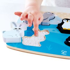 Тактильная головоломка Арктические животные
