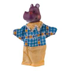 Кукла-перчатка Бегемот  28 см