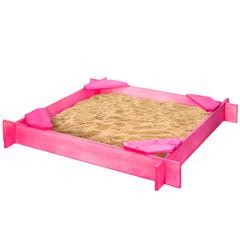 Деревянная песочница