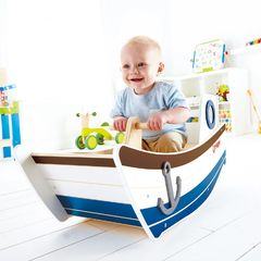 Качалка Лодка Открытое море