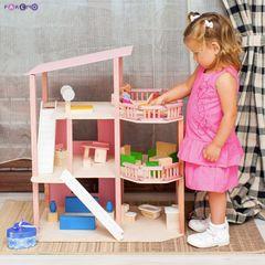 """Дом для мини-кукол """"Коралловый риф"""" с мебелью 21 предмет"""
