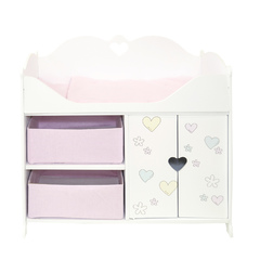 Кроватка-шкаф для кукол серии Мимими Мини, Крошка Мили