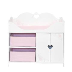 Кроватка-шкаф для кукол серия  Розали  Мини, цвет Бьянка