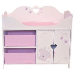 Кроватка-шкаф для кукол серия  Рони Мини, стиль 1