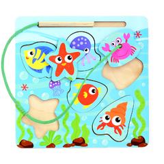 Развивающая игрушка Вкладыш Веселая рыбалка