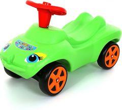 Каталка Мой любимый автомобиль зелёная со звуковым сигналом