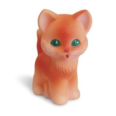 Резиновая игрушка Котенок Рыжик 12 см