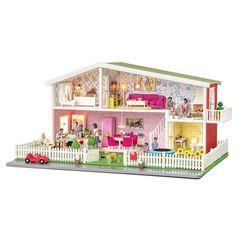 Классический кукольный домик