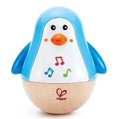 Игрушка - неваляшка Пингвин музыкальный