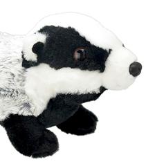 Мягкая игрушка Барсук, 25 см