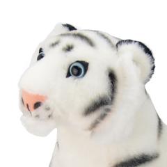 Мягкая игрушка Белый тигр, 20 см