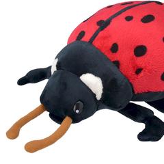 Мягкая игрушка Божья коровка, 20 см