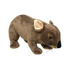 Мягкая игрушка Вомбат, 20 см