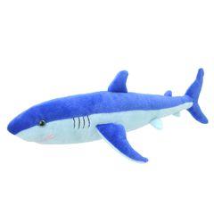 Мягкая игрушка Голубая акула, 25 см