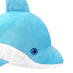 Мягкая игрушка Дельфин голубой, 25 см