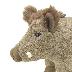Мягкая игрушка Дикий кабан, 25 см