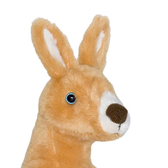 Мягкая игрушка Кенгуру, 25 см