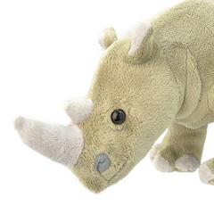 Мягкая игрушка Носорог, 25 см