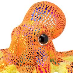 Мягкая игрушка Осьминог, 25 см