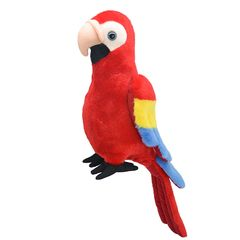 Мягкая игрушка Попугай, 25 см