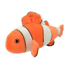 Мягкая игрушка Рыба-клоун, 20 см