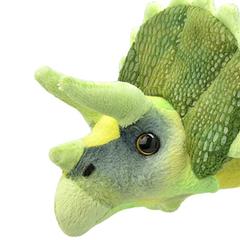 Мягкая игрушка Трицератопс, 25 см