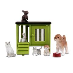Куклы для домика Стокгольм Домашние животные