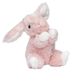 Мягкая игрушка Заяц розовый 16 см
