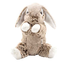 Мягкая игрушка Заяц серый 23 см