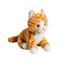 Мягкая игрушка Кот рыжий 20 см