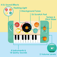 Синтезатор со звуком и светом