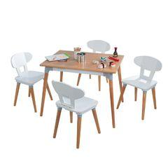 Набор детской мебели Mid Century: стол, 4 стула