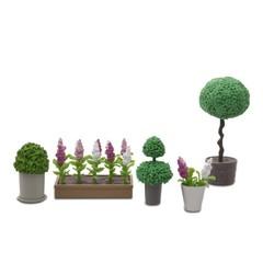 Аксессуары для домика Стокгольм Цветы в горшках