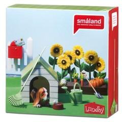 Игровой набор для домика Смоланд Садовый набор с питомцем