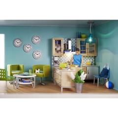 Игровой набор для домика Стокгольм Кухонный остров с мойкой