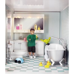 Набор мебели для домика Смоланд Ванная и душевая