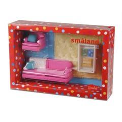 Набор мебели для домика Смоланд Гостиная в розовых тонах