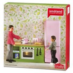 Набор мебели для домика Смоланд Кухонный набор с холодильником