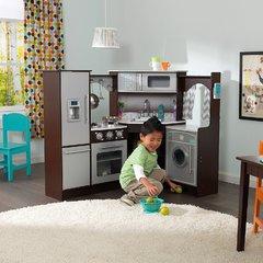 Большая детская игровая кухня «Эспрессо-Интерактив», угловая