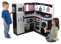 Большая детская игровая кухня «Эспрессо», угловая