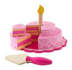 """Игравой набор """"Многоуровневый праздничный торт"""". Цв. Розовый"""
