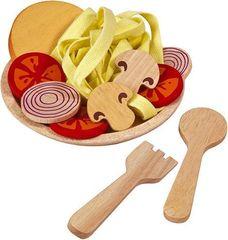 Деревянный игрушечный набор Спагетти с овощами