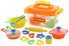 Набор детской посуды (20 элементов) (в контейнере)