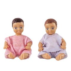 Набор кукл для домика два пупса