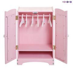 Кукольный шкаф, цвет Розовый